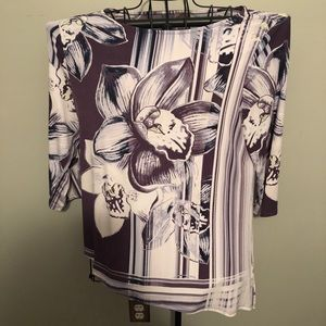 Chico's easywear shirt- size 2